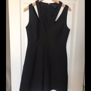 BCBG Black Cocktail Dress
